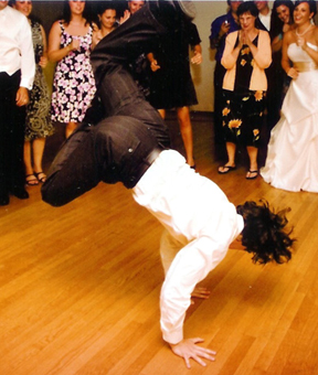 Wedding Breakdancing Performance