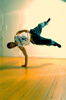 Breakdancing Ninja Clothing