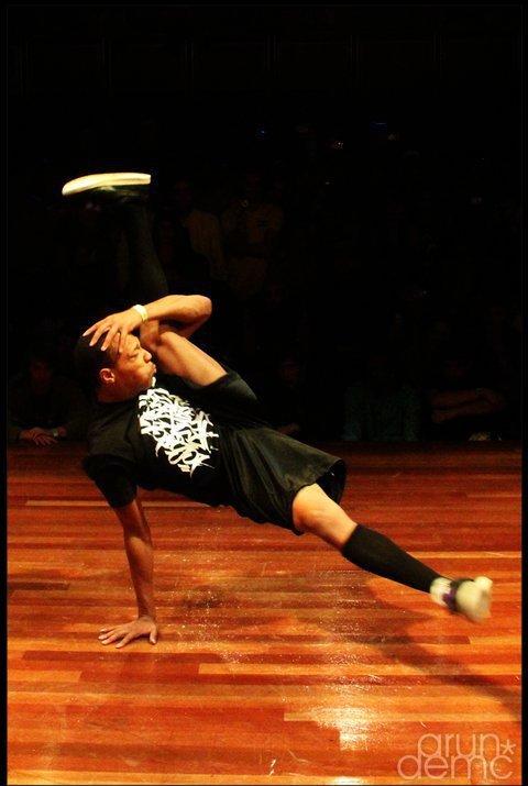 Breakdance Flare Morris flare